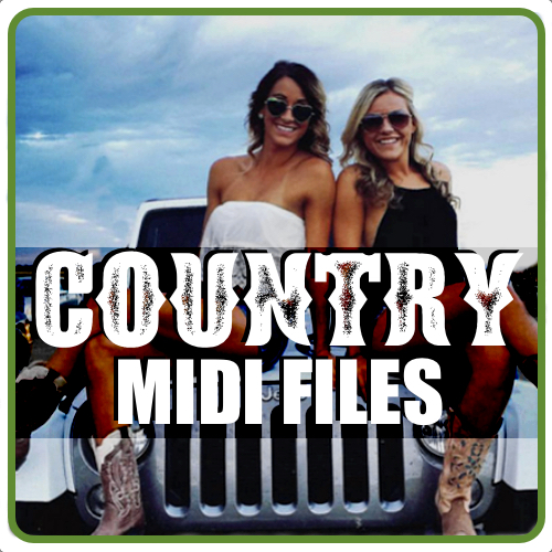 Country MIDI Files by Hit Trax